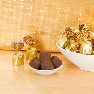 Trufe de ciocolata cu crema de alune